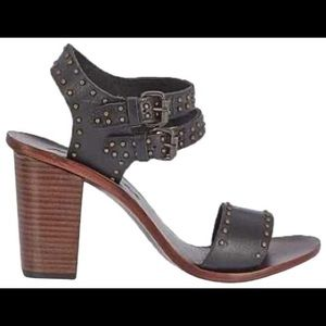 Matisse Sally Leather Strappy, Studded Heels 6.5